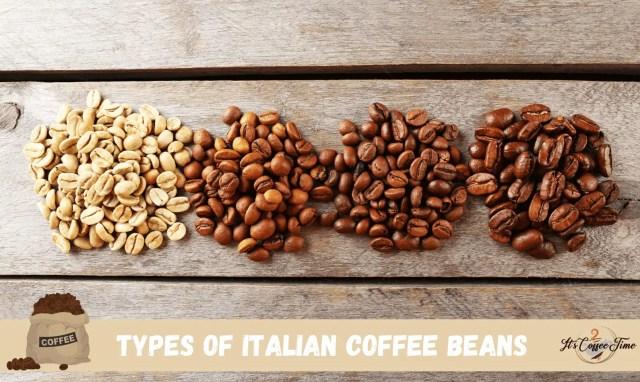 Types of Italian Coffee Beans