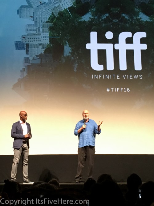 "Rob Reiner speaks after a screening of ""LBJ"" at the 2016 Toronto International Film Festival"
