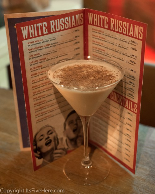 OMG it's a page and a half of White Russians!!!
