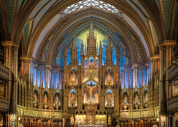 Montreal - Notre Dame Cathedral - Revised