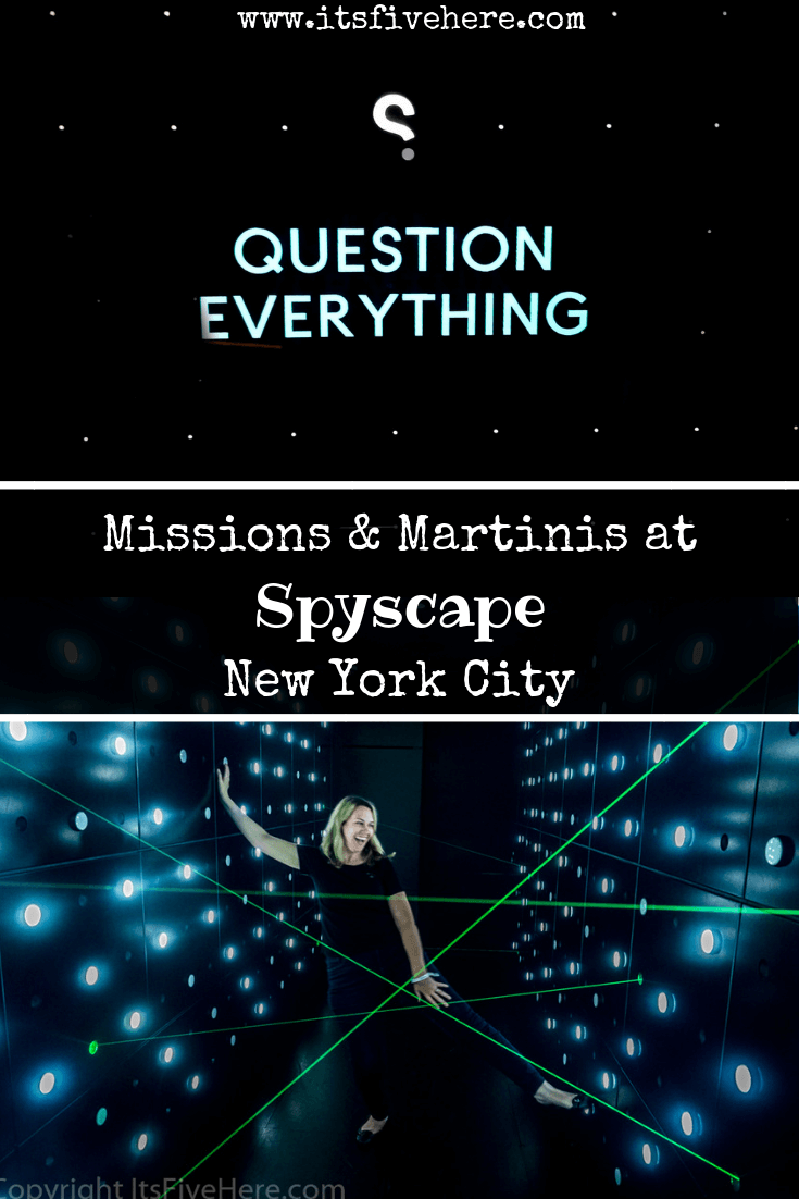 Missions and Martinis: A Night Out at Spyscape, NYC's New