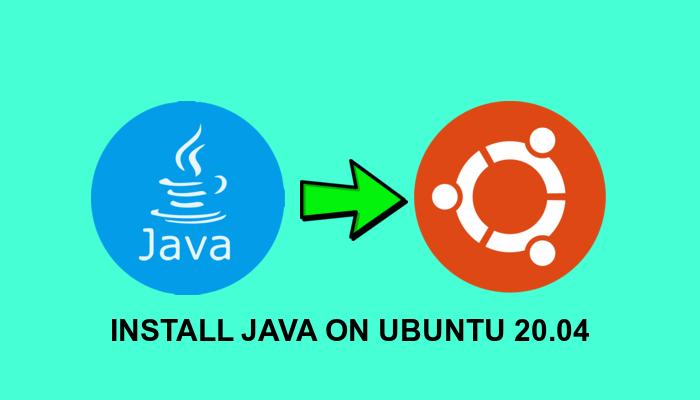 how to install java on ubuntu linux 20.04