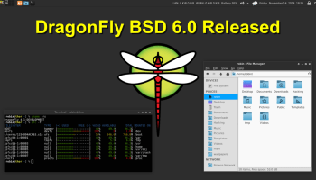 DragonFly BSD 6.0 Stable Build Available to Download