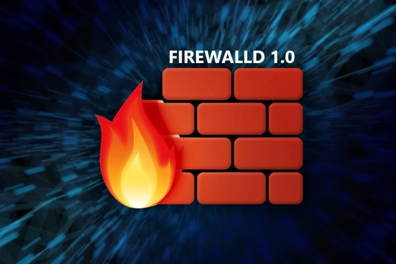 firewalld 1.0: first major version of the popular firewall for Linux