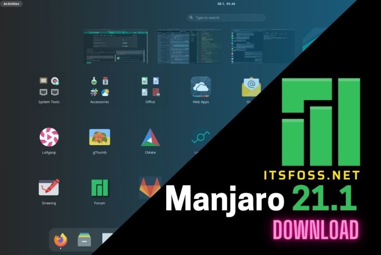 Manjaro 21.1 Available to Download