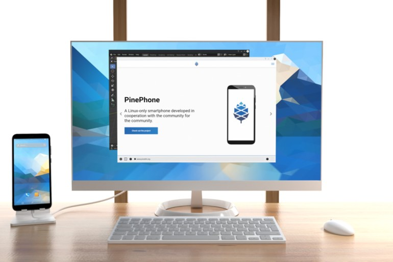 Introduced PinePhone Pro Linux Smartphone, shipped with KDE Plasma Mobile