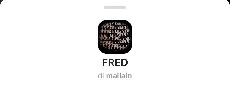 filtro FENDI instagram stories