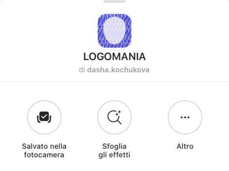 FENDI monogram filtro instagram