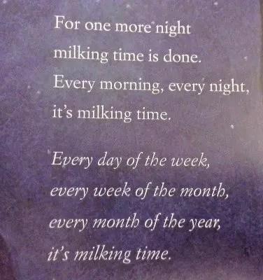 It's Milking Time by Phyllis Alsdurf