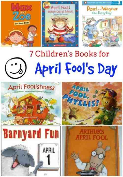 7 Children's Books for April Fool's Day