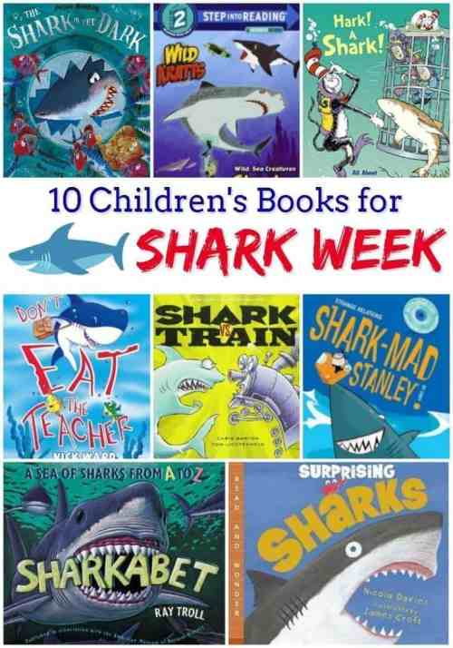 10 Children's Books About Sharks