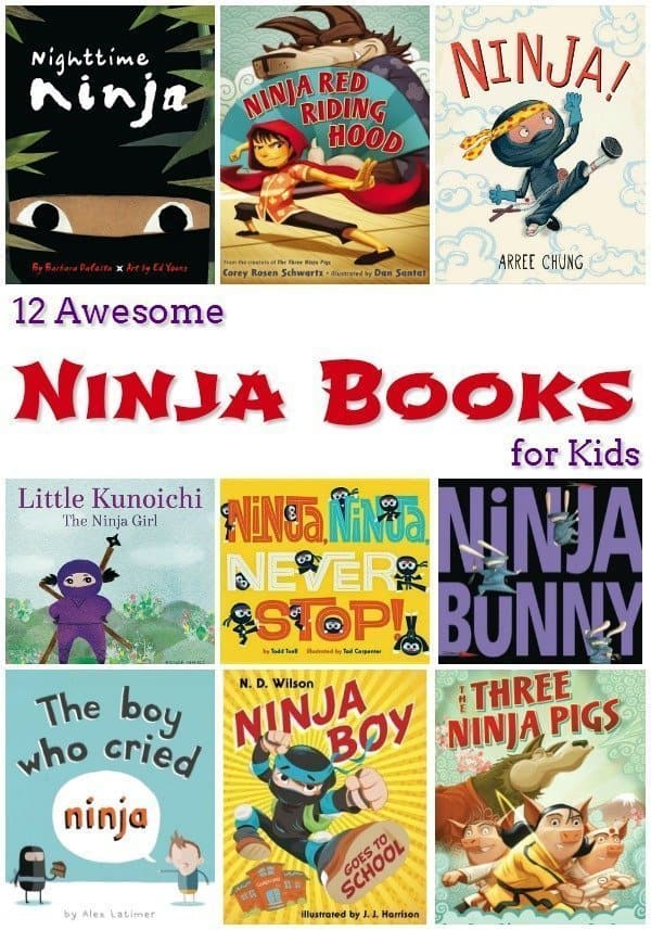 12 Awesome Ninja Books for Kids