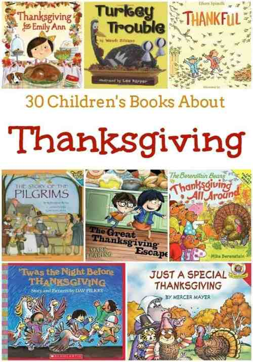 30 Children's Books About Thanksgiving