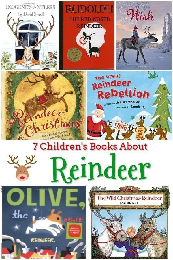 7 Reindeer Books for Kids