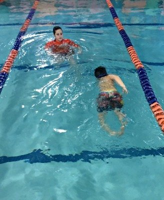 Goldfish Swim School Glider