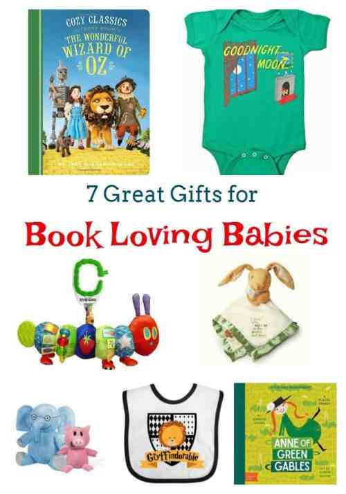 7 Book Themed Baby Gifts