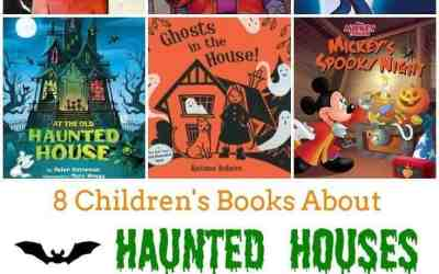 8 Children's Books About Haunted Houses