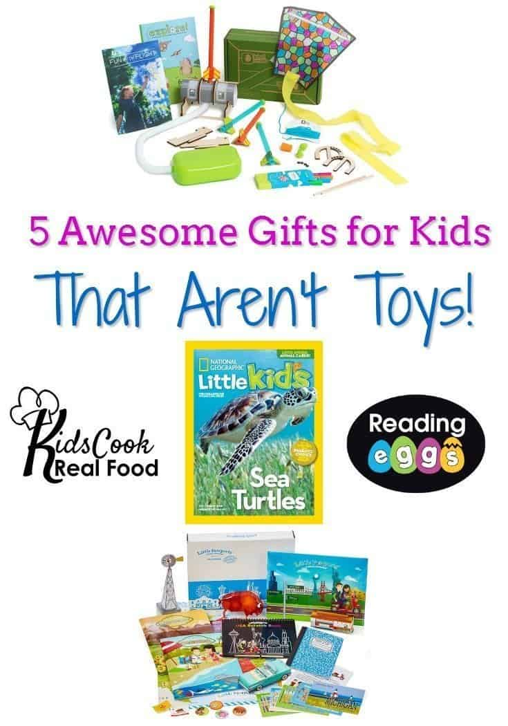 5 Gifts for Kids That Aren't Toys