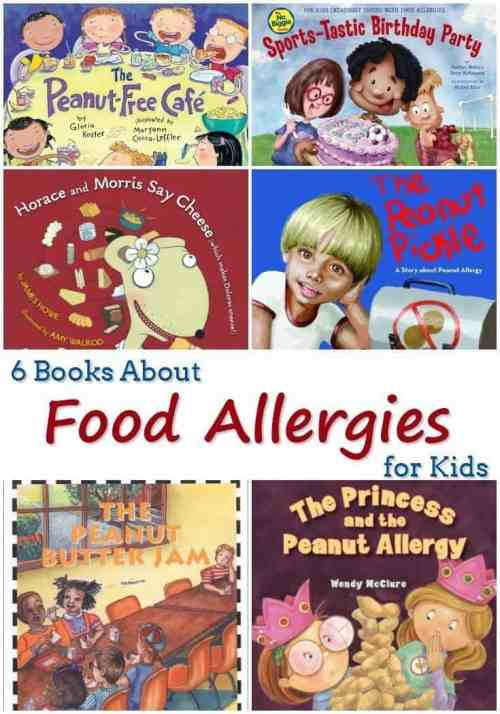 6 Books About Food Allergies for Kids
