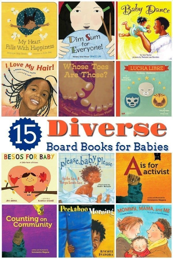 15 Diverse Board Books for Babies and Toddlers
