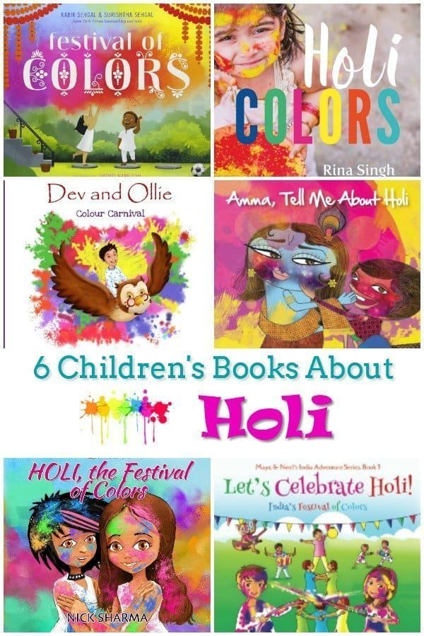 6 Children's Books About Holi