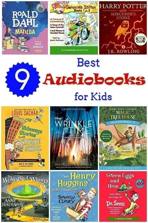 9 Best Audiobooks for Kids