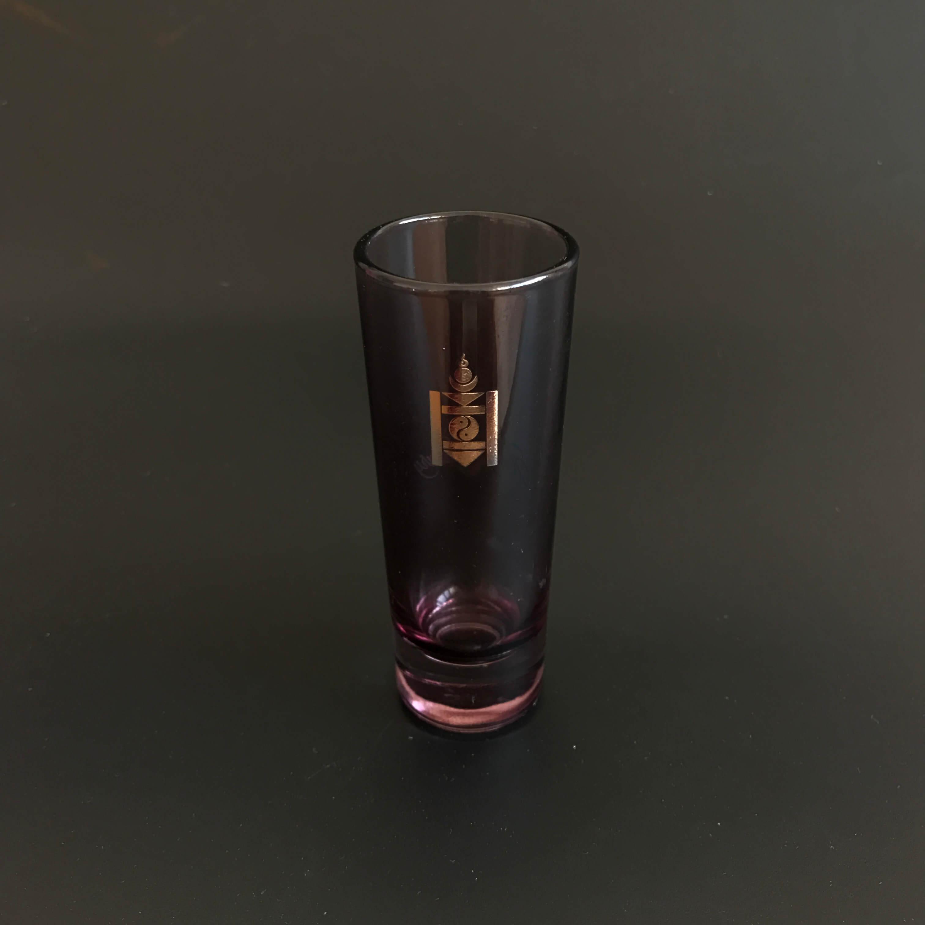 Colored Double Shot Glasses 21oz  60ml  ITS Glassware