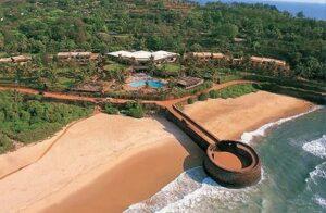 Vivanta by Taj - Aerial photograph of the resort (www.travelmarg.com)
