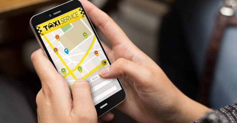 GTDC app-based taxi service
