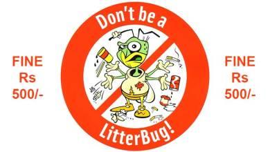 Photo of Camurlim decides to fine litterbugs