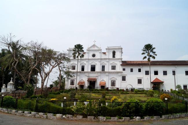 Rachol Seminary - resting place of Father Agnelo