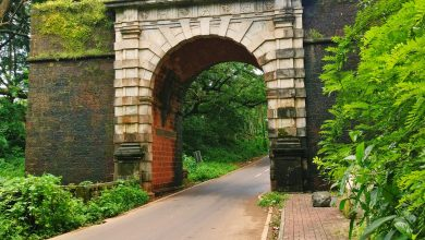 Photo of The Viceroy's Arch at Velha Goa – a tourist's delight