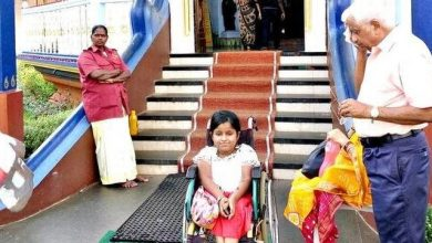 Photo of Sanika Keskar was never offered a wheelchair by the temple management, says her mother