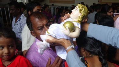 Photo of The veneration of the beloved Infant Jesus at the Colva Fama 2018