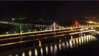 "Photo of ""How's the josh?"" asks CM Parrikar as he inaugurates Goa's new Mandovi bridge"