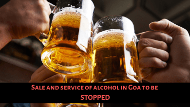 Photo of Sale and service of alcohol in Goa to be stopped