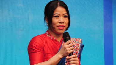 Photo of Mary Kom stuns audience in Goa with this knock-out punch