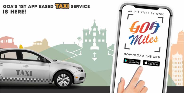 Goa Miles App Based Taxi Service