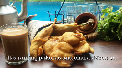 Photo of It's raining pakoras and chai at the Novotel this monsoon season