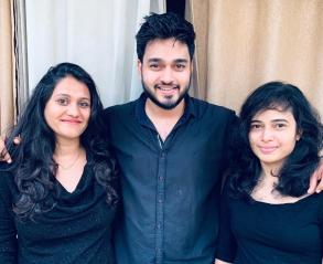Founders of tiffin delivery service in Goa - Tiffin Factory