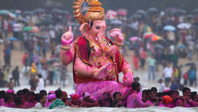 Ganesh Chaturthi immersion