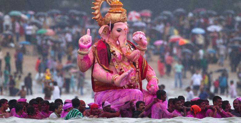 Ganesh Chaturthi immersion