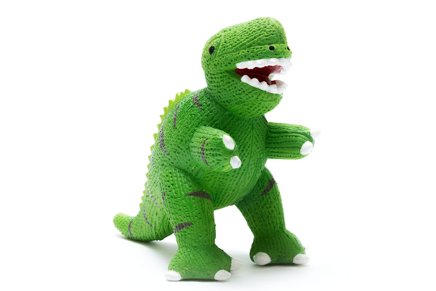 My First T Rex Natural Rubber Dinosaur Toy Green It S