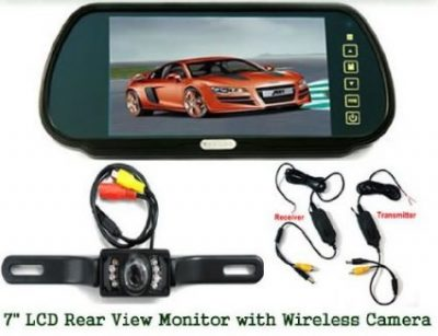 BW 3.6mm Wide Angle Car Rear View Reversing Backup Camera with Night Vision