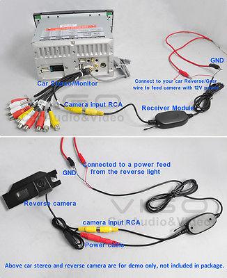 fujitsu ten wiring diagram my family tree how to install backup camera with wireless module