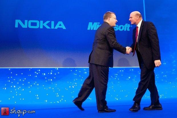 Mbaron marrëveshja Nokia-Microsoft