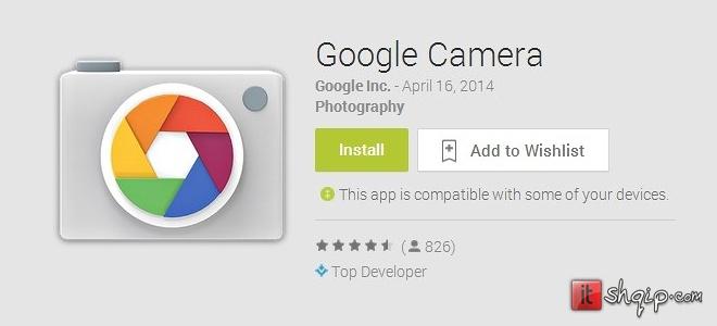 Zyrtare Aplikacioni Google Camera arrin në PlayStore