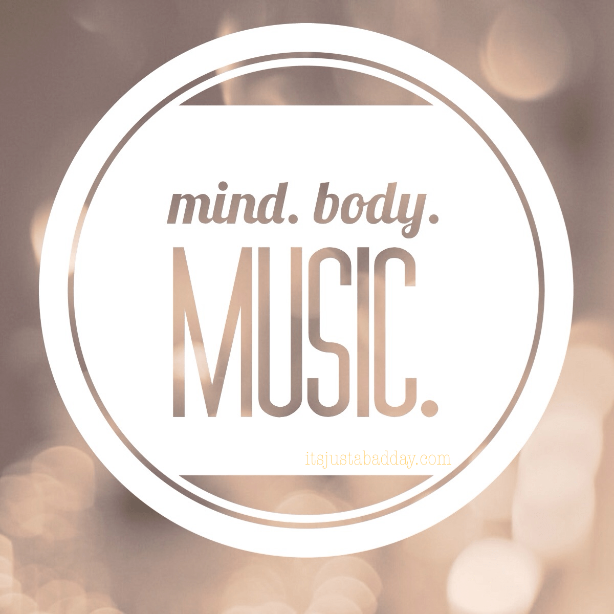 Mind.Body.Music: WE ARE INVINCIBLE!
