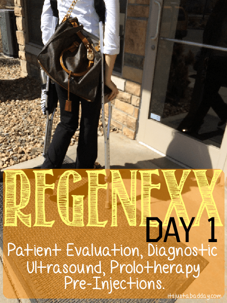 AVN Regenexx Stem Cell Therapy Procedure Day 1