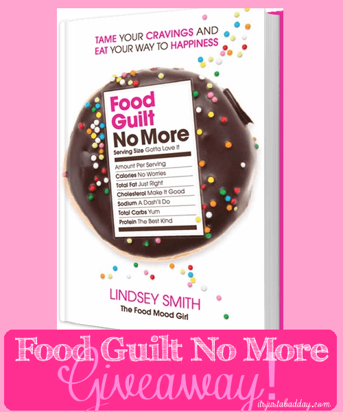Food Guilt {and a give away!} #MiracleMonday